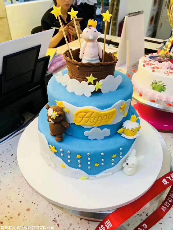 裱花蛋糕那么好看在哪學圖片