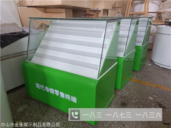 木質煙柜 浙江紹興香煙玻璃柜設計圖紙