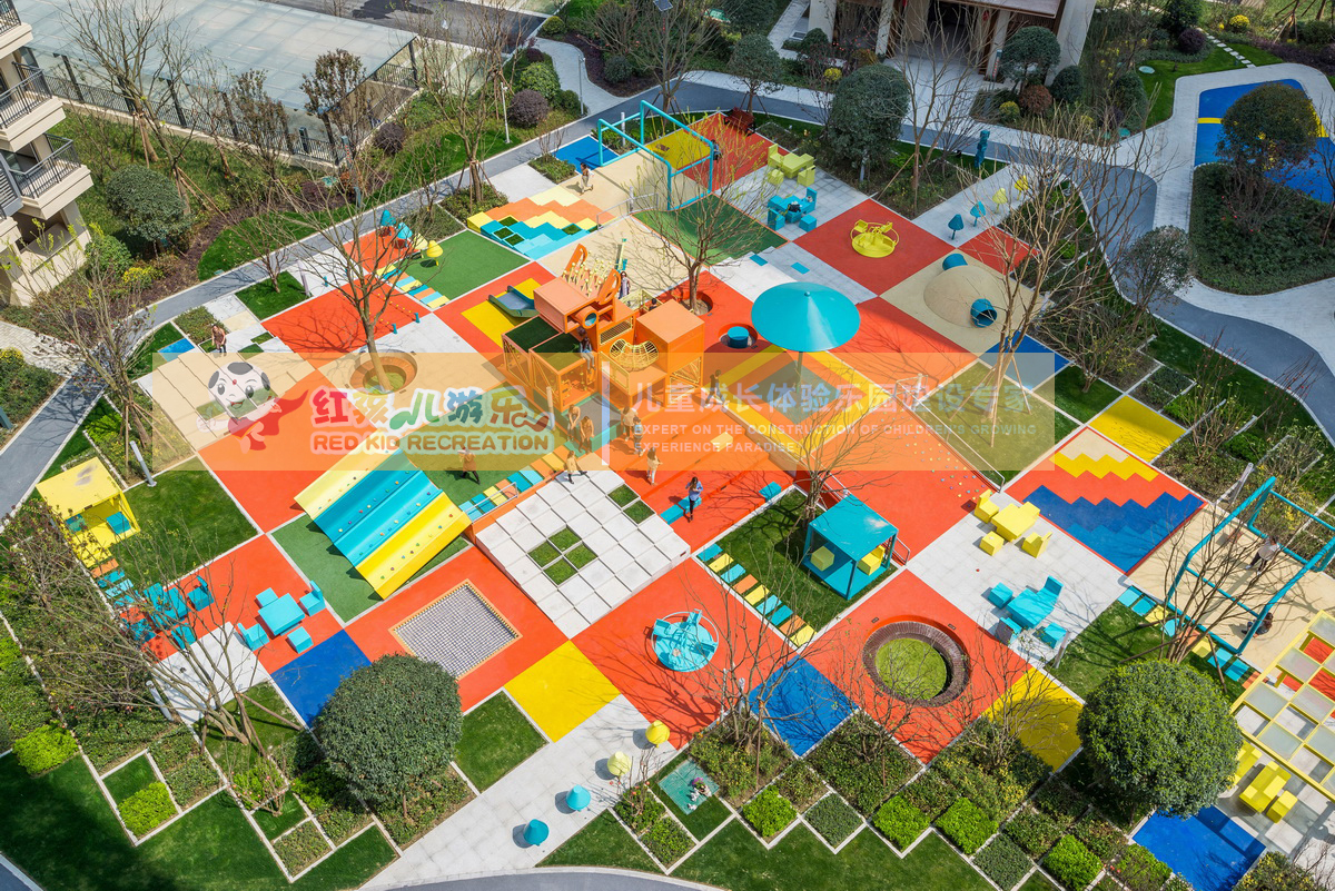 儿童室外游乐设备厂家 大气感小区儿童乐园 游乐场设施图片