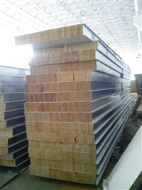 昆明岩棉瓦生产厂家/防火夹芯板价格/彩钢复合瓦多少钱一米