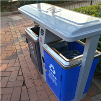 赣州市环卫垃圾桶型号LY-B2利银厂家