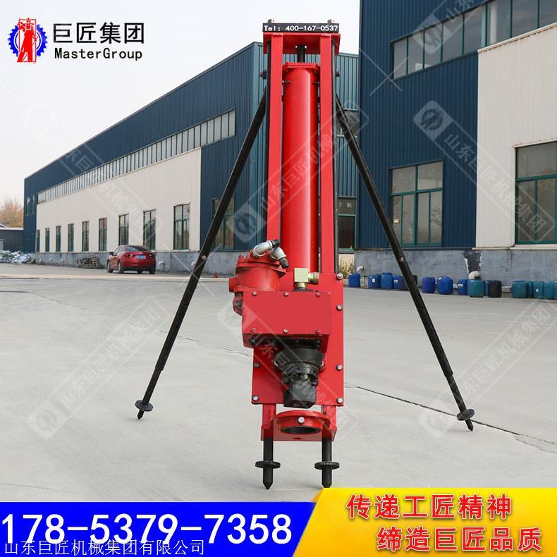 巨匠钻机100型气电联动钻机潜孔边坡支护钻机