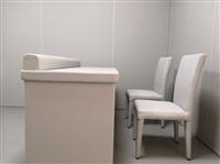 留置室防撞軟包桌椅產品照片