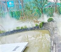 广元市宁静造雾景观施工