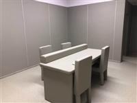 防火阻燃軟包-審訊室軟包桌椅