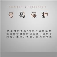 号码保护-防止用户手机/座机号码隐私泄露的融合通信解决方案