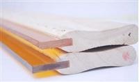 飞马胶刮 丝印胶刮耐磨耐溶剂 沈阳丝印胶刮 丝网印刷刮刀胶条