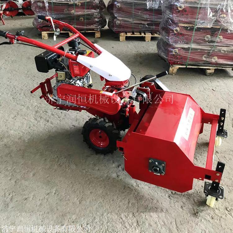 还田果园粉树枝机器 柴油电启动园林碎枝机