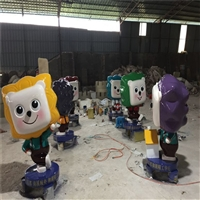 江西卡通玻璃钢雕塑,卡通造型雕塑联尖公司