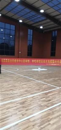 南陵县单龙骨实木运动地板销售