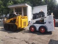 铲车扫地机 无尘扫地机 环保扫地机 沥青废料清扫 滑移扫地机