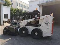 鲁工铲车清扫 装载机清扫机 小铲车前进式扫地机价格