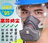 防尘头戴式口罩 防颗粒呼吸器 工业劳保口罩