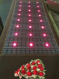 负氧离子光子床垫 美容院能量玉石床垫 托玛琳远红外线光波能量床