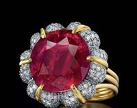 缅甸红宝石在线拍卖价值怎么体现