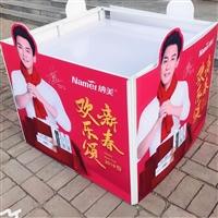 广州超市堆头 折叠堆头 超市商品食品促销台 铁堆头超市