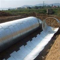 雙鴨山公路改建用鋼波紋管涵 拼裝鋼波紋涵管 東北鋼波紋管廠家