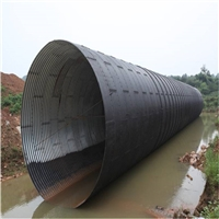 運馳鋼波紋管廠家 供應白山市涵洞波紋管 東北鋼製波紋涵管