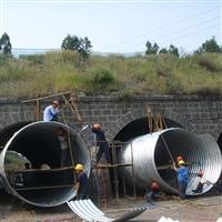 突泉縣鋼波紋管涵報價 台湾涵洞波紋管廠家 運馳鋼波紋管