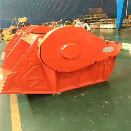 工厂直销破碎斗液压碎石器 进口xc破碎斗 液压式粉碎力量强劲图片