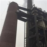 鋼煙囪除銹刷油漆防腐 煙筒測平臺旋轉梯安裝 技術卓越