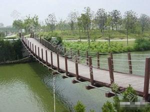 园之艺定制木吊桥系列
