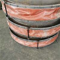 方形非金属膨胀节不锈钢丝网