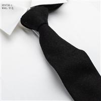 復古百搭純色羊毛男款領帶