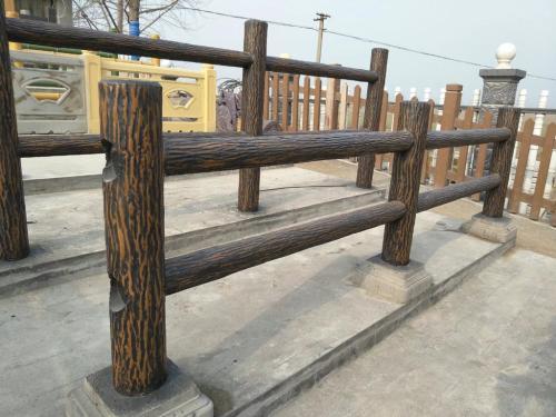 汕頭混凝土仿木護欄價格