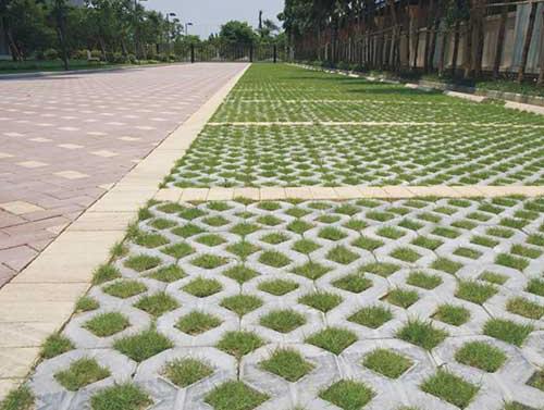 揭陽人行道植草磚批發