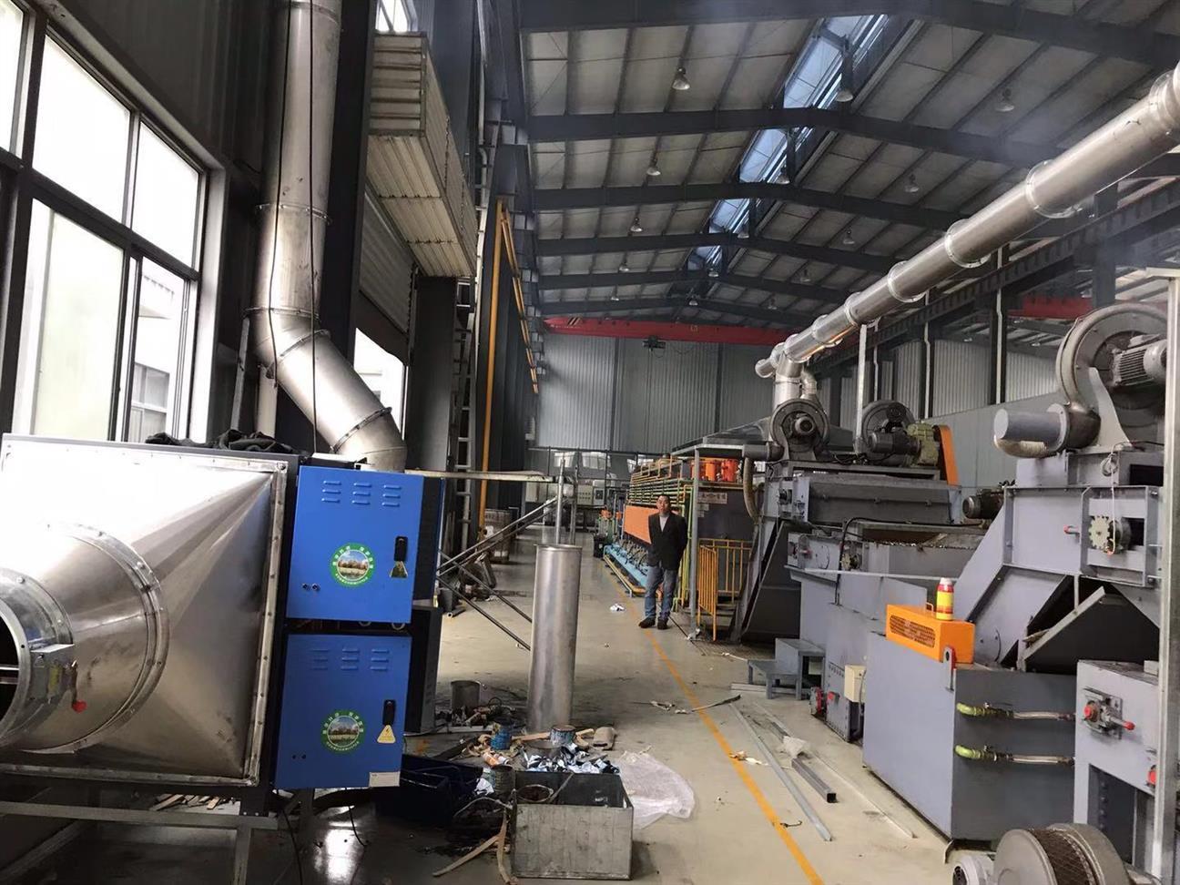 杭州熱處理油煙處理器廠家 大型餐飲店都在用