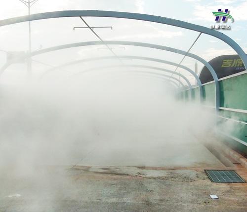 黄山现货高压人造雾机报价 雾森设备厂家 制造工艺优