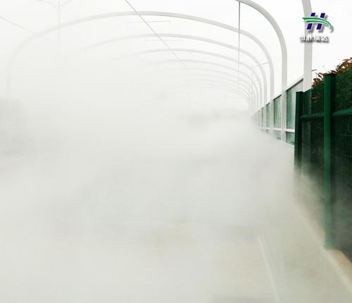 邯郸供应高压人造雾机 冷雾公司 制造工艺优