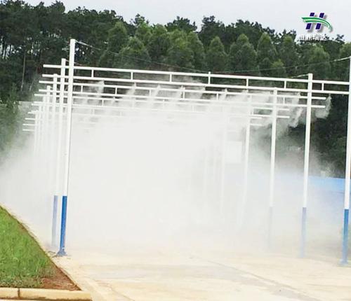 阜新原装高压人造雾机品牌 雾森品牌 技术成熟 产品稳定