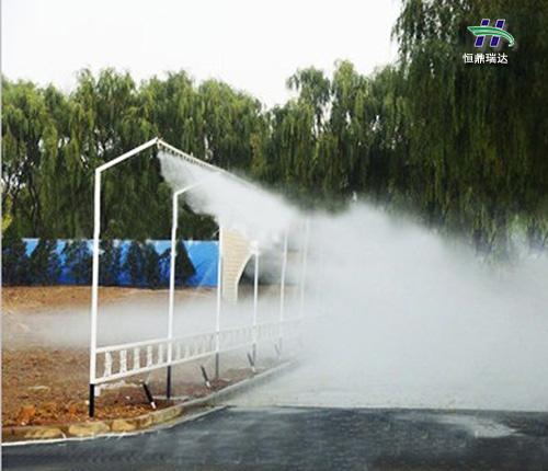 昌吉原装高压人造雾机优惠 喷雾景观系统 2020喷雾行业