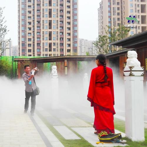 江苏高压人造雾机 山东水池水雾景观 2020环保专家