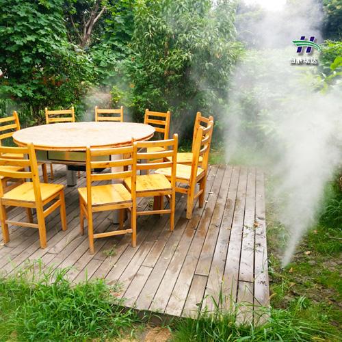 宁夏高压人造雾机 海南高压喷雾 2020雾森品牌