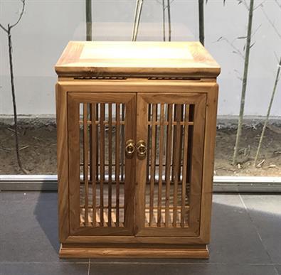 江门老榆木茶水柜定制 新中式泡茶柜 老木不朽再创经典