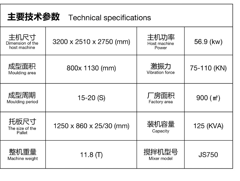 透水砖机生产线 透水砖机自动生产线