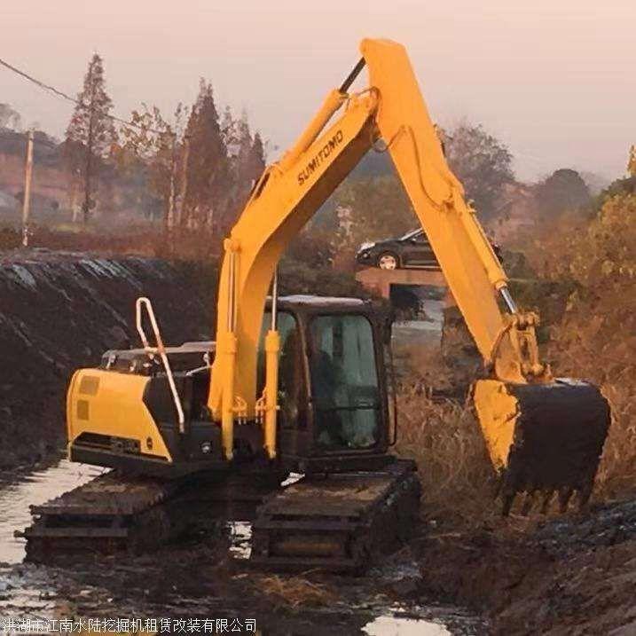 德宏傣族景頗族自治州沼澤地挖掘機出租價格低