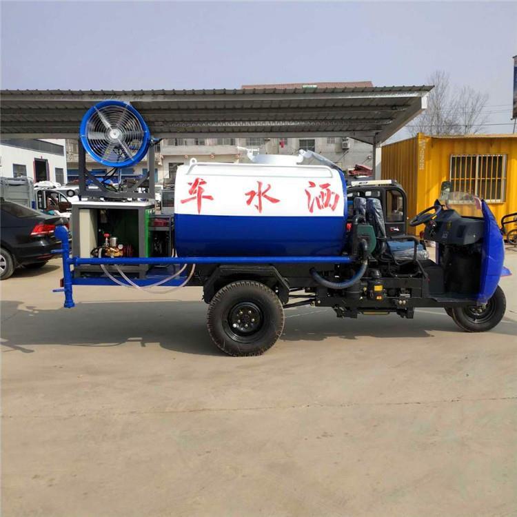 柴油三轮洒水车价格 大型洒水车参数配置