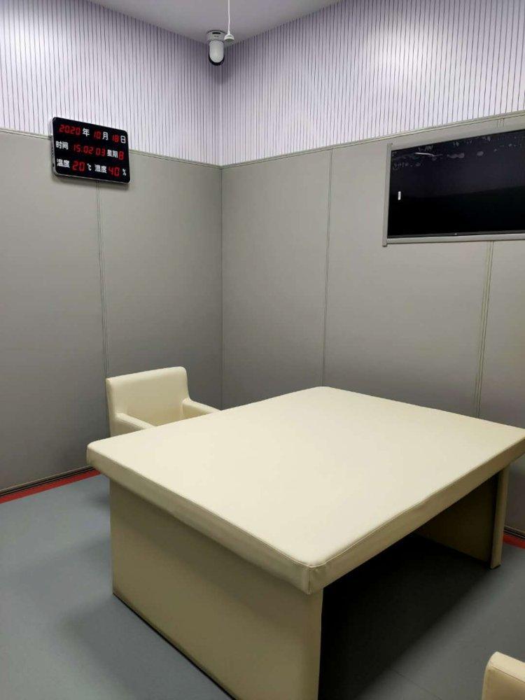 安徽合肥纪委谈话室留置室软包安装防撞系统