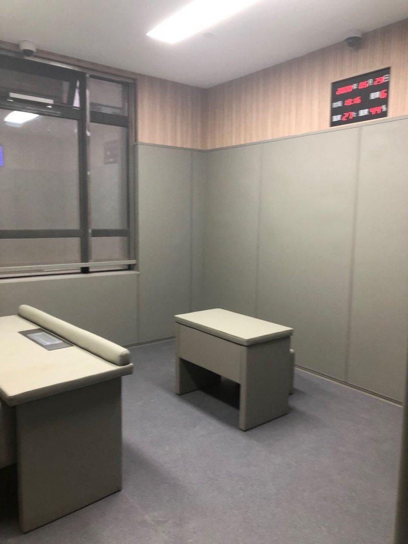 公检法留置室软包定制墙面防撞处理