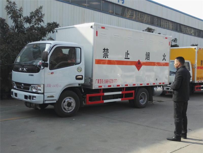 重庆5米2原油气体运输车配置