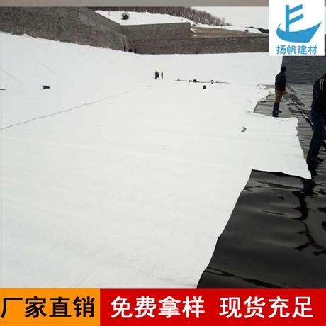 益陽復合土工膜生產廠家兩布一膜魚塘防滲