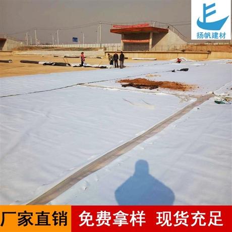 深圳復合土工膜生產廠家兩布一膜魚塘防滲