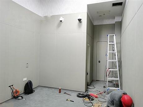 公检法留置室软包厂家指导安装材料