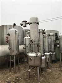 供应二手不锈钢双效降膜蒸发器