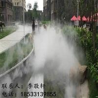 徐州市景觀造霧設備圍擋噴霧除塵