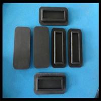 圆柱形橡胶弹簧橡胶垫块 橡胶防尘罩橡胶块